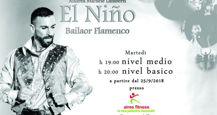 Corsi di baile flamenco 2018/19 Torino e Italia