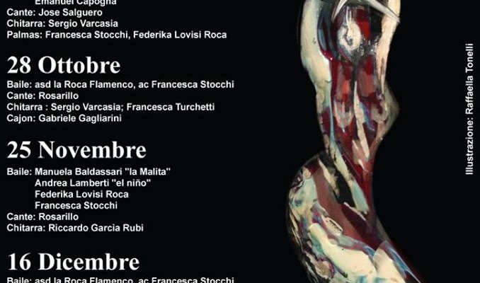 FLAMENCO LIBRE ROMA 25 NOVEMBRE 2019