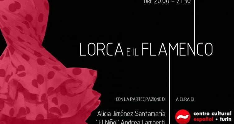 LORCA E IL FLAMENCO – CENTRO CULTURAL ESPANOL DI TORINO